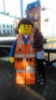 Jag är 36 år och tycker fortfarande om Lego.