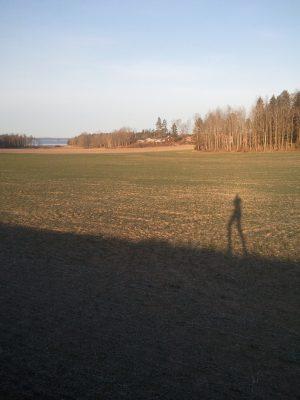 På juldagens kväll var jag på krogen men det hindrade mig inte att springa 21 kilometer till Skärblacka på annandagen. Julklapparna hade jag skickat dit med annan transport.