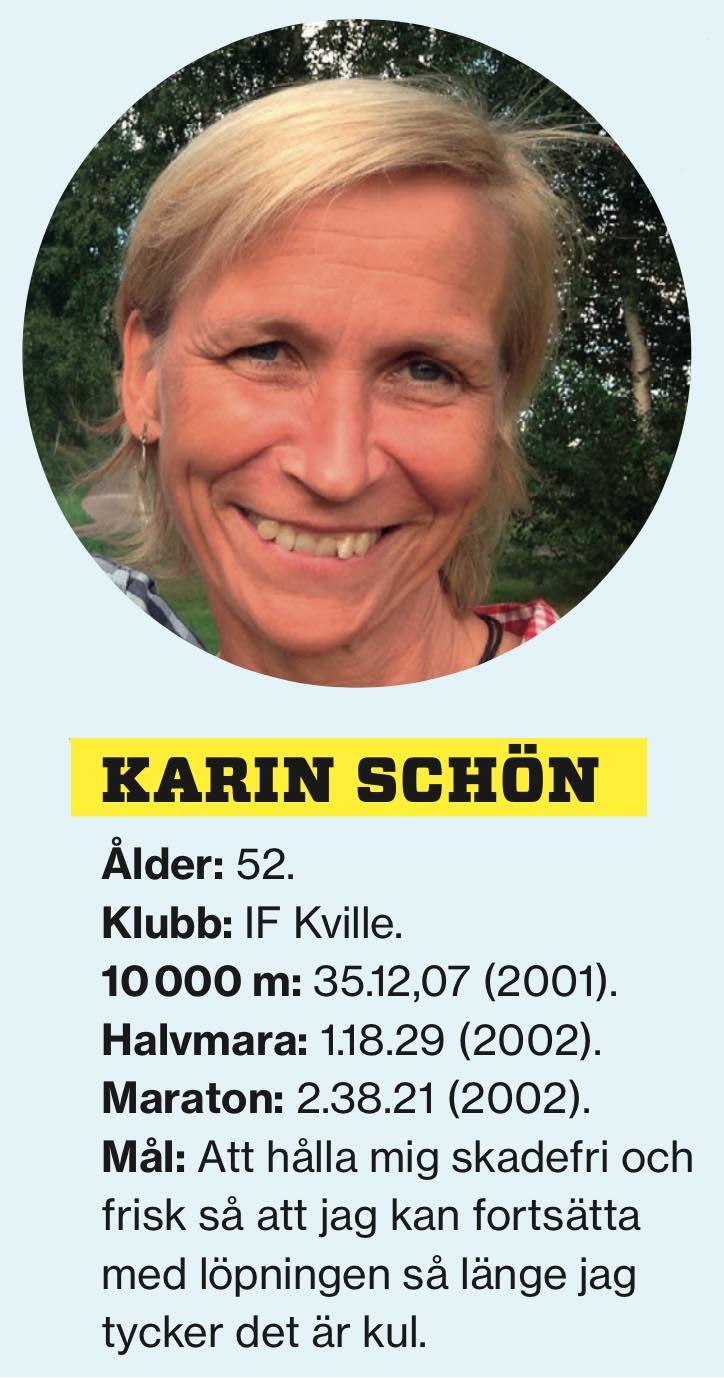 Stafettkrönika – Skriven av Karin Schön - karin