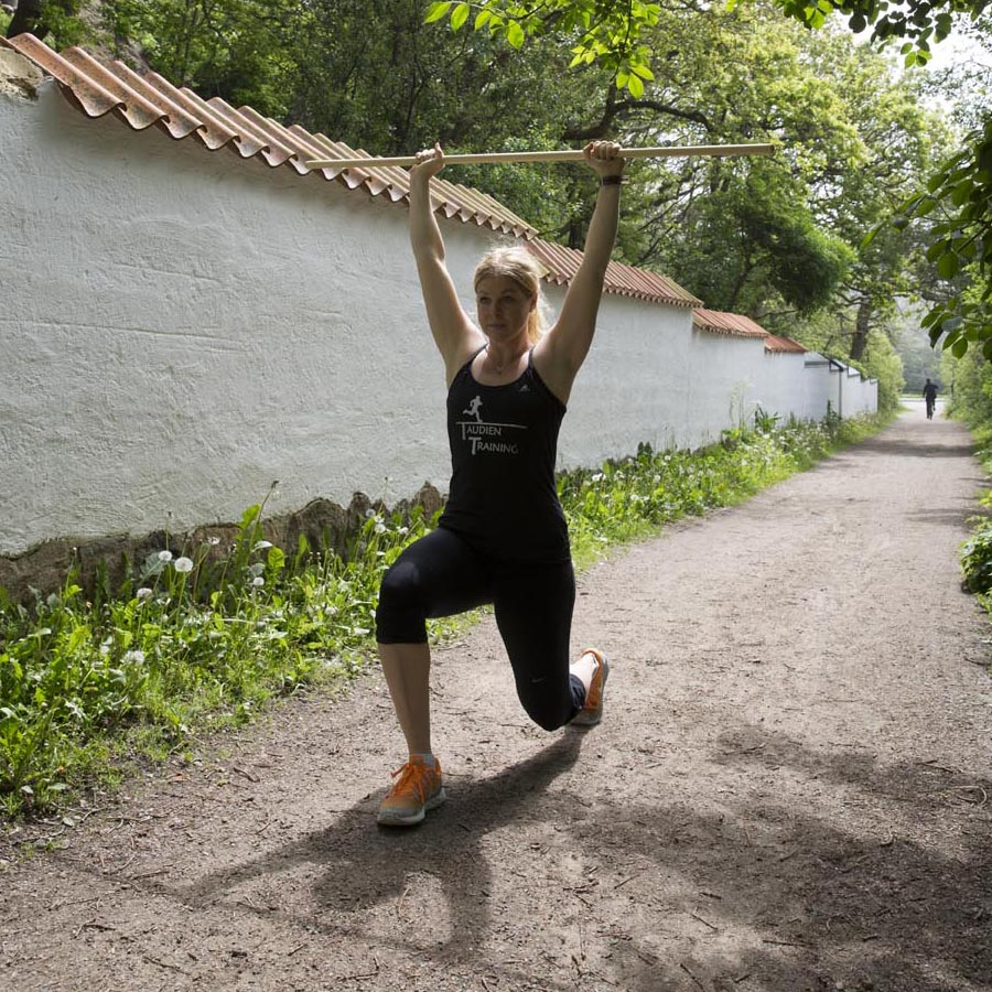 springa med vikter
