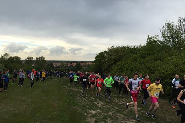 Extremt Lopp I Lund Spring Löpning För Alla