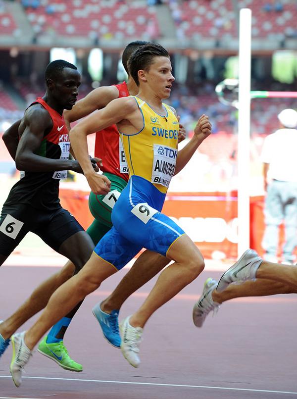 Andreas Almgren, Turebergs FK, 800 meter , försök,