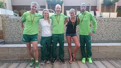 Swedish green dreamteam. Alla utrustade med silvermedaljer. Förutom Kajsa som fick det eftertraktade guldet.