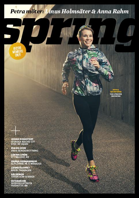 #1 2016, medlemstidningen Spring