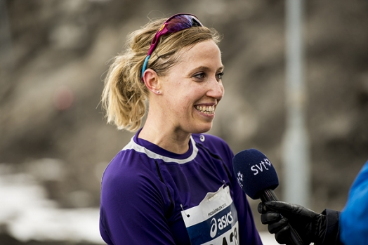 Lisa Nordén vann VårRuset i Uppsala med 17.33. Arkivbild: Mikael Grip