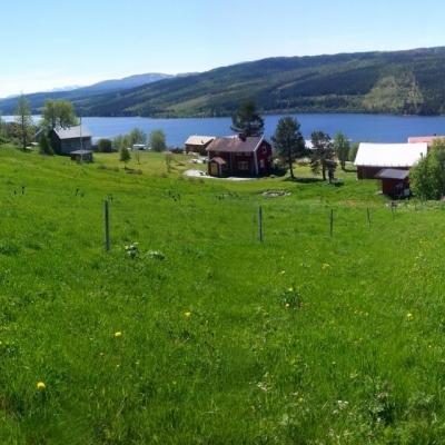 Där bor jag i Åre.