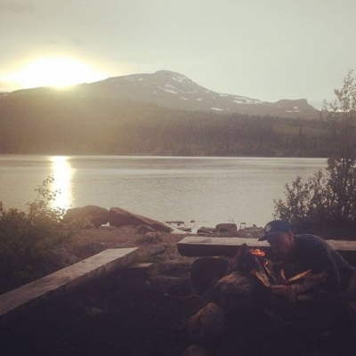 Magiska kvällar i Åre.