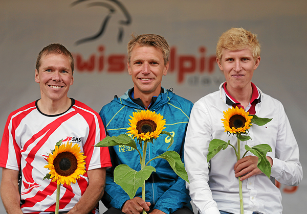 Swissalpine: Flower Ceremony, Podest Herren