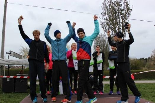 Den svenska löparstammen bestående av mig, Laser, Nubben o Pell!