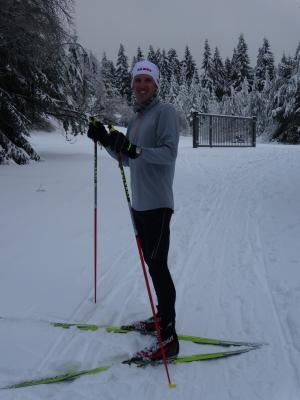 Blev visst lite skidor i Oberhof också
