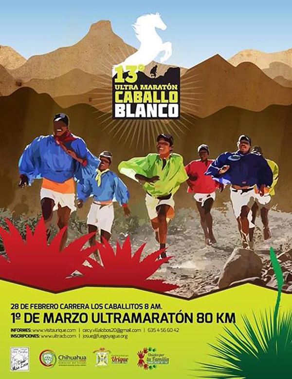 Affisch Caballo Blanco Ultra 2015