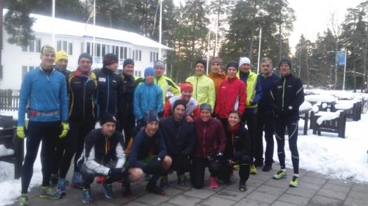 Förra helgen var jag på läger på Bosön med mitt härliga Ultragäng. Vi hade besök av Markus Torgeby som bott i en kåta i skogen i fyra år samtidigt som han tränade löpning och Erik Ahlström som visade oss senaste löparmodet från 80-talet och berättade om alla lopp som han arrangerat. Inspirerande människor och roliga träningspass.