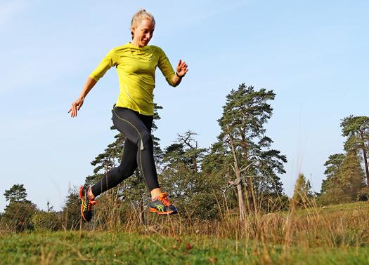 Arkivbild: Mimmi Kotka från IS Göta springer Ultratrail-VM.