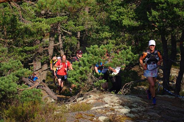 42K - Bergslöpning med ett leende