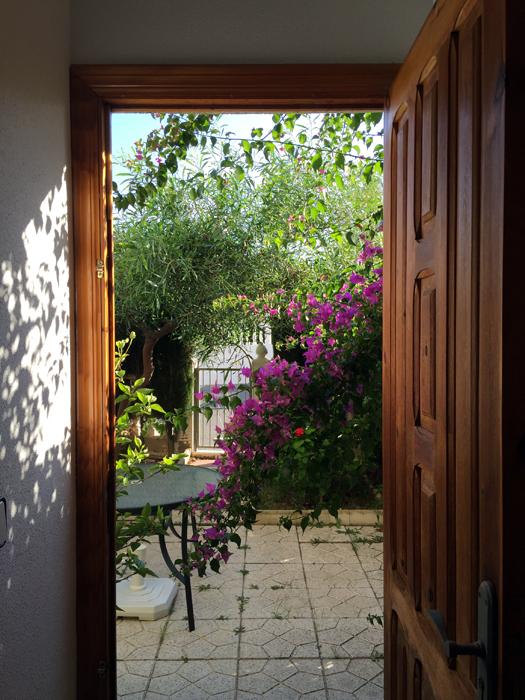 Vår lilla oas i Spanien