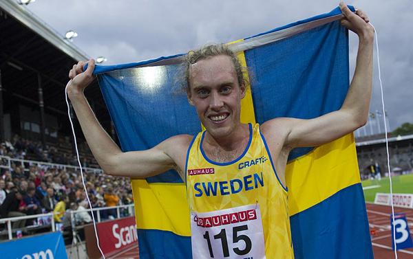 Mikael Ekvall, Strömstads LK, 10000 meter, vinnare