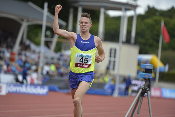 Robin Lindgren, Örgryte IS, 3000 meter, personbästa.