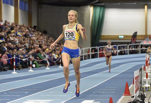 Linn Nilsson, Hälle IF, 1500 meter,