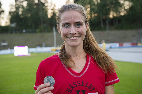 K 10000 m Final2016-08-26          2  Louise Wiker79Hässelby SK34:56.95  SB